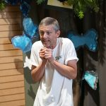 Vito Gioia performs The Lion and the Mouse for a Children's Theatre at Kohl Children's Museum of Greater Chicago