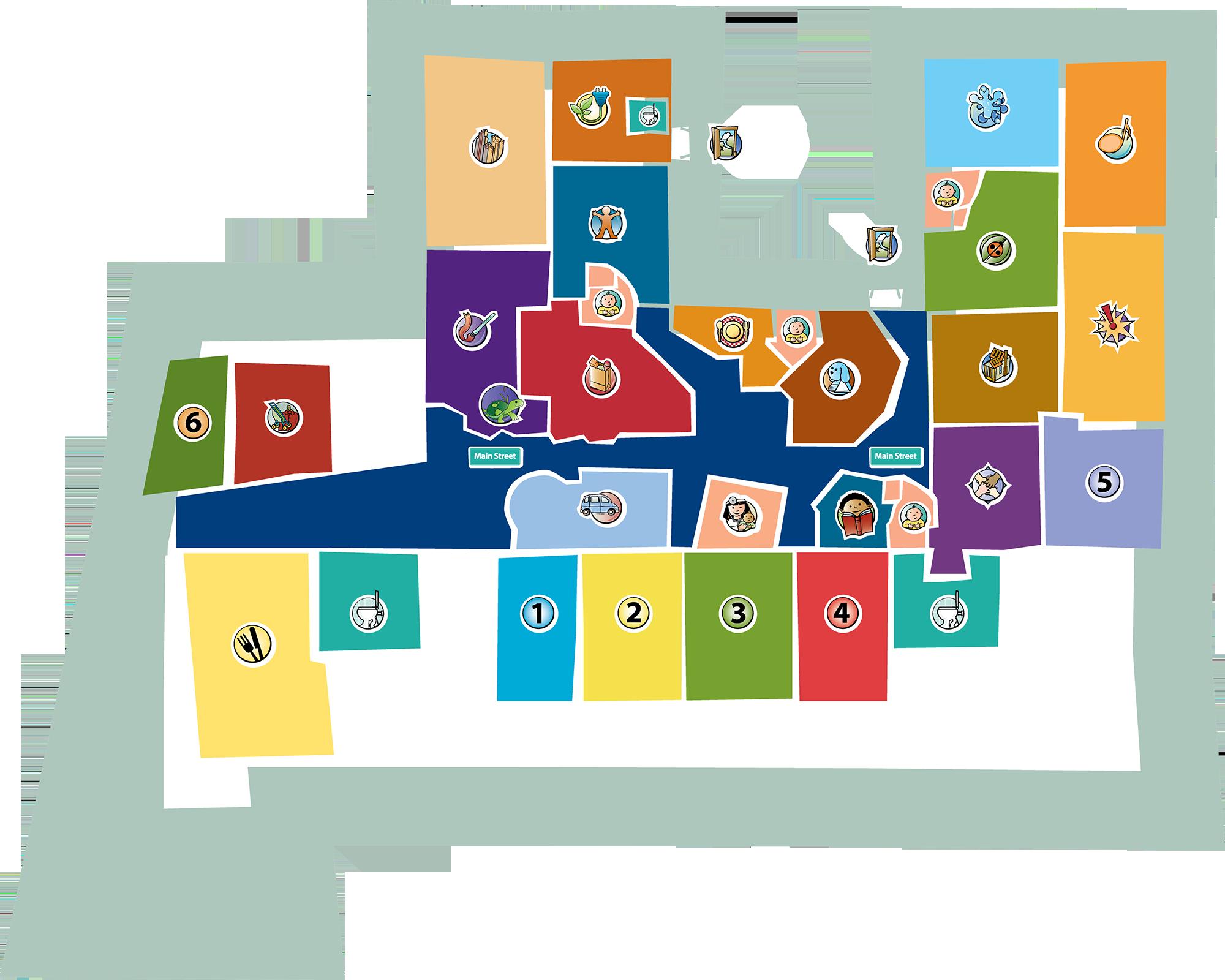 Museum Map - Kohl Children's Museum on camp randall stadium map, target map, nordstrom map, dollar general map, lands end map, menards map, old navy map, petsmart map, gamestop map, petco map, guitar center map, puma map, dillard's map,