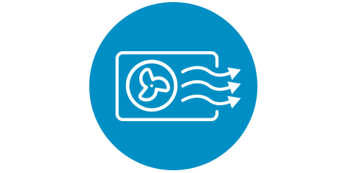 icon of air ventilation