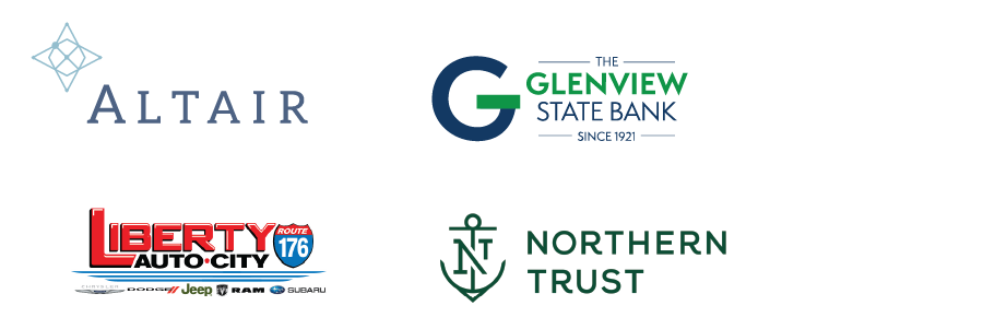 Altair, Glenview State Bank, Liberty Auto City, Northern Trust